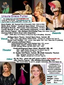 Resume 2013 Theater Resume - Mar v.3 '14